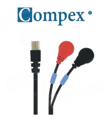 Compex Wire-Kabel 8P Snap