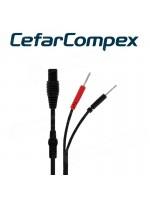 Cefar Compex Kabel mit zwei Anschlüssen für Cefar Slimfirst und Slim 8